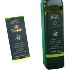 PVC personalized bottlestickers ,Customized oil bottle sticker label,self adhesive wine bottle stickers label