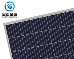 Factory Price Goldsun ISO14001 60 Cells 255W Solar