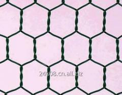 Altıgen tel kafes, boyutu 3'x 100'