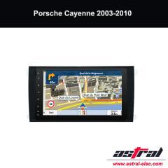 Porsche 2 Din Bluetooth Head Unit Cayenne