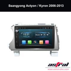 Ssangyong 2 Din Car Audio Player Actyon Kyron # 10