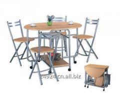 Складной стол и стул