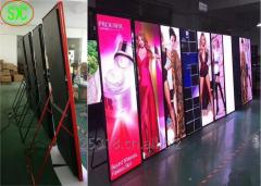 Full color led screen p3 indoor for the die-casting aluminium cabinet SMD