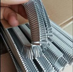 Aluminum clips  for packing clipper machine