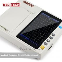 MEDITECH EKG-3A ECG device Large, Color and Touch