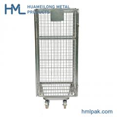BY-10 4 sided Galvanized wire mesh nested roll