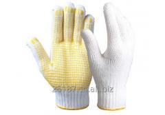 Строка вязать безопасности работы перчатки/SKG-03