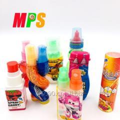Разнообразные детские небольшие игрушки с кислой
