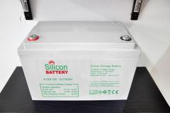 Silicon salt storage battery 12V 100AH