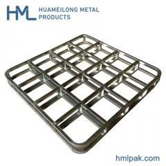 HML-7272WM промислового сталеві Полу трейлер