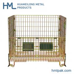 F-1 Industrial stackable storage mesh wire