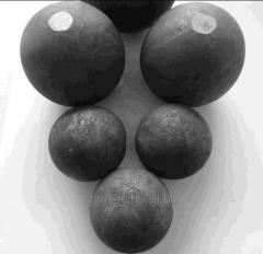 Hot-rolled steel balls