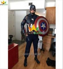 Perfect Captain America Costume Superhero...