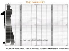 Серия G прозрачный светодиодный дисплей