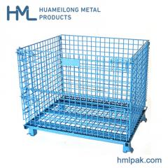 W-1 Industrial storage steel wire mesh container