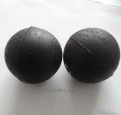 Чугунные мелющие шары с высоким содержанием хромом