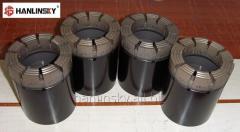 HQ3 Diamond Core Bits for Soft Fractured Abrasive