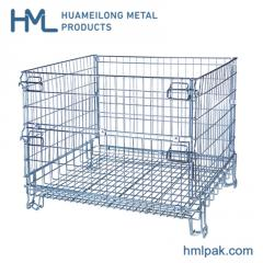 Durable lockable hot sale wire mesh basket for