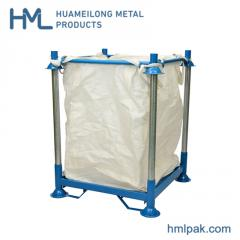 Huameilong industrial mobile racking with big bag