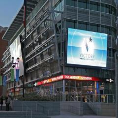 Бесшовные рекламы Billboard P5 открытый матовый
