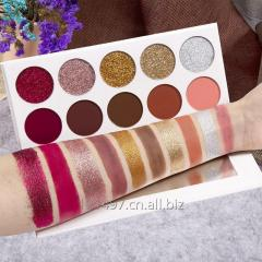 Glitter eyeshadow pan matte eye shadow high