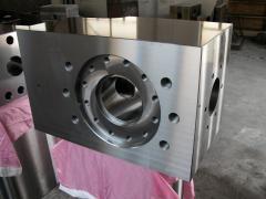 Hydraulic box (hydraulic box) on the drilling pump