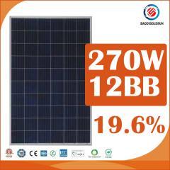 270w 12BB Solar Panel
