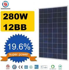 280w 12BB Solar Panel