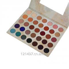 Частный ярлык Vegan Косметика 35 цветов палитры