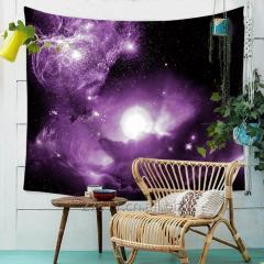 Галактика висит стены гобелен дома Декор йога Бич