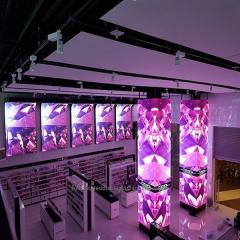 Большой P4.81 светодиодные видео стены наружной