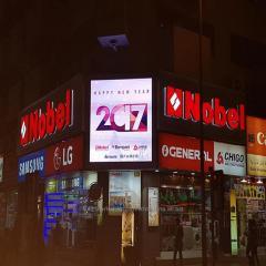 Большой экран стадион светодиодный дисплей P3