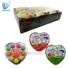 Халяль сердце и в форме розы мармелад конфеты