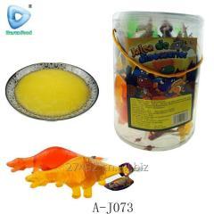 Форма Динозавр ассорти фруктовое желе