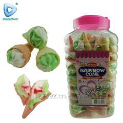 Два цвета мороженого халал Мэллов фруктовый джем