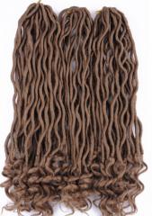 Синтетические волосы завить искусственной