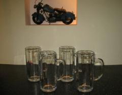 玻璃啤酒杯 300ml