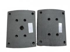 Truck Accessories brake lining for Russia