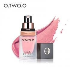 O.TWO.O Makeup Liquid Blusher Silky Paleta De
