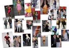 Brands clothes, shoes, handbags