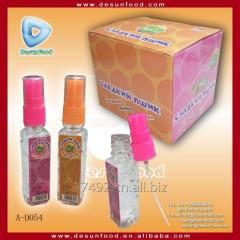 天然彩色香水喷雾糖果液体糖果