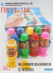 2018 new item liquid fruit jam candy