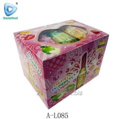 Halal lipstick fruit flavor lollipop candy