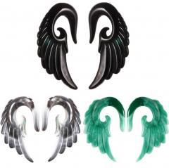 Акриловые увеличить уха смолы панк-ангел крылья