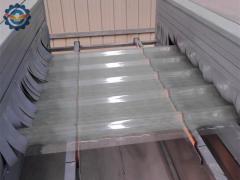 泰坦全自动玻璃钢屋面造板机