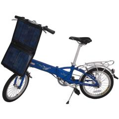 18kg Solar Folding Electric Bike with Lithium-ion