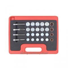 64pc Oil Drain Thread Repair Kit
