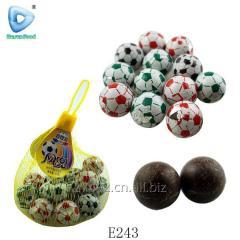 Футбол форма шоколадный шар