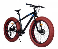 27.5 fatbike alloy frame 9 speed