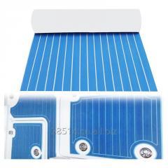 35.4 x 94.5 inch Adhesive Pads EVA Boat Foam blue